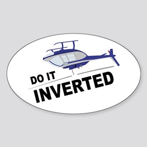 Do It Inverted JR Oval Sticker