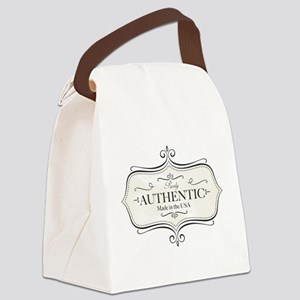 Purely Authentic Canvas Lunch Bag