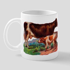 Cow and calf 11 oz Ceramic Mug