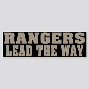 Rangers-Lead Bumper Sticker