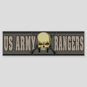 Rangers skull Bumper Sticker