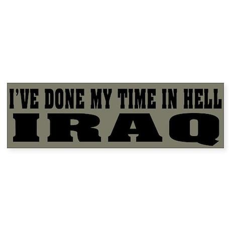 Iraq-Hell Bumper Sticker