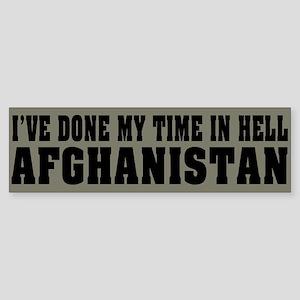 Afghanistan-Hell Bumper Sticker