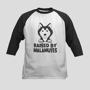Raised by Malamutes Baseball Jersey