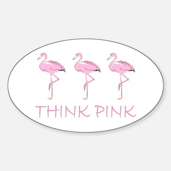 Breast cancer flamingo Decal