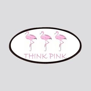 Breast cancer flamingo Patches