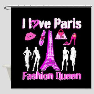 PARIS COUTURE Shower Curtain