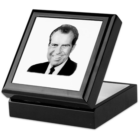 Richard Nixon Keepsake Box