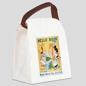 1978 Children's Book Week Canvas Lunch Bag
