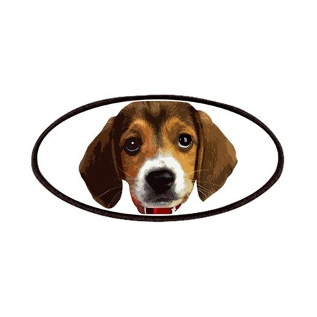 Beagle Face 003 Patches