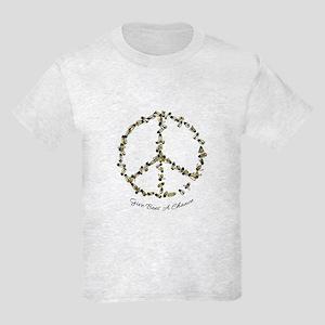 Give Bees A Chance Kids Light T-Shirt