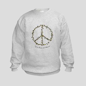 Give Bees A Chance Kids Sweatshirt
