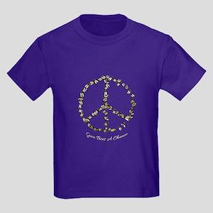 Give Bees A Chance Kids Dark T-Shirt