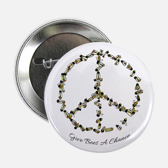 "Give Bees A Chance 2.25"" Button"