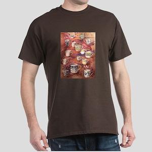 Coffee cups Dark T-Shirt