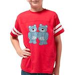 bear_blueblue Youth Football Shirt