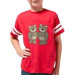 bear_brownbrown Youth Football Shirt