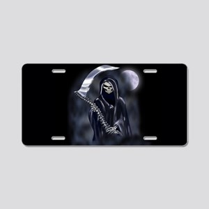 Grim Reaper (nb12) Aluminum License Plate