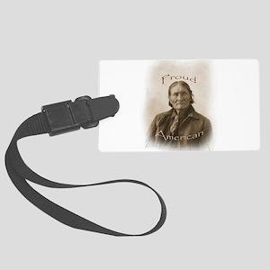 Geronimo, Proud American Luggage Tag