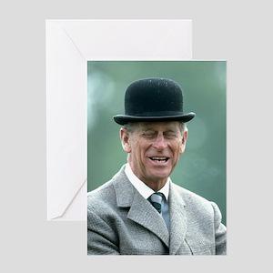 HRH Prince Philip Windsor Greeting Cards