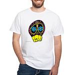 Dia De Los Muertos White T-Shirt