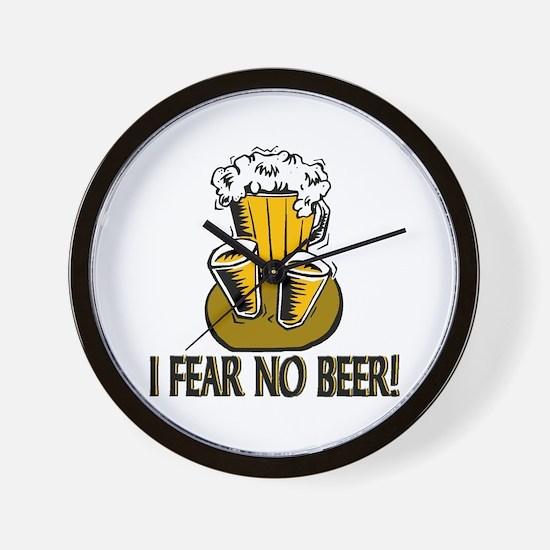 Fear No Beer Wall Clock