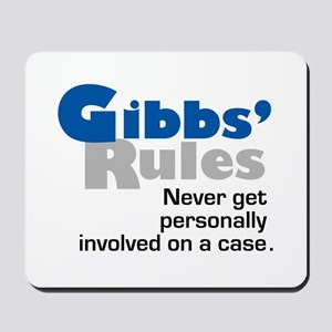 Gibbs' Rules Never Get Personally Involved Mousepa