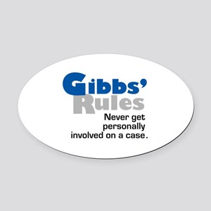 Gibbs' Rules Never Get Personally Involved Oval Ca