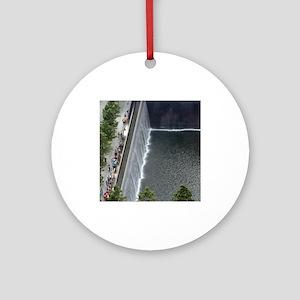 September 11 Memorial NYC Ornament (Round)