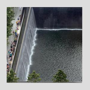 September 11 Memorial NYC Tile Coaster