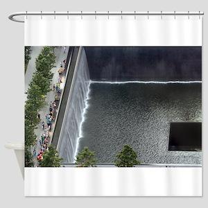 September 11 Memorial NYC Shower Curtain