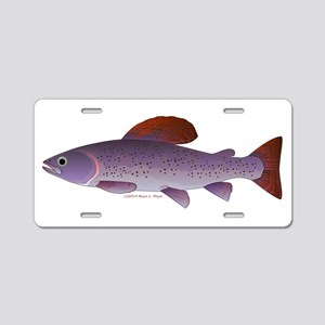 Arctic Grayling Aluminum License Plate