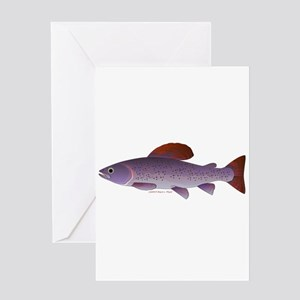 Arctic Grayling Greeting Cards