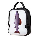 Arctic Grayling c Neoprene Lunch Bag