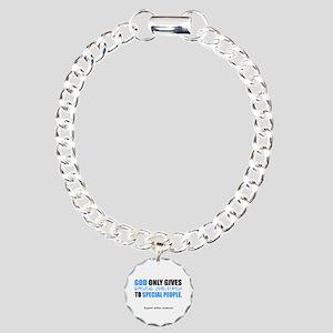 God Only Gives (Autism Awareness) Charm Bracelet,