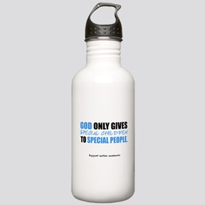 God Only Gives (Autism Awareness) Stainless Water