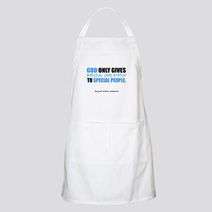 God Only Gives (Autism Awareness) Apron