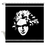 Beethoven Classical Music Shower Curtain