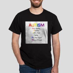 Autism Ask Questions Dark T-Shirt