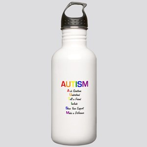 Autism Ask Questions Stainless Water Bottle 1.0L