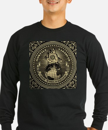 illuminati new world order 911 Long Sleeve T-Shirt
