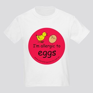 I'm allergic to eggs-red T-Shirt