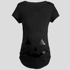 Jack-O-Lantern Maternity T-Shirt