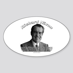 Richard Nixon 02 Oval Sticker