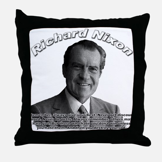 Richard Nixon 02 Throw Pillow
