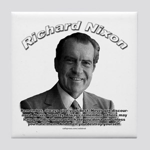 Richard Nixon 02 Tile Coaster