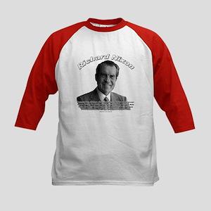 Richard Nixon 02 Kids Baseball Jersey
