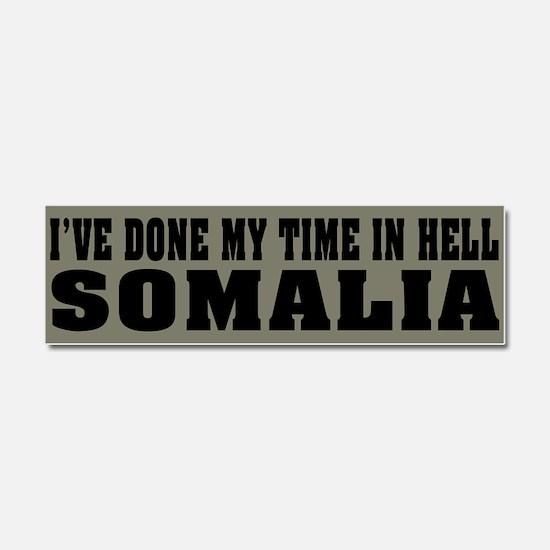 Somalia - Hell Car Magnet 10 x 3