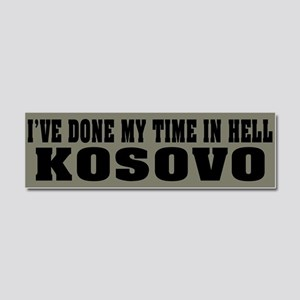 Kosovo - Hell Car Magnet 10 x 3