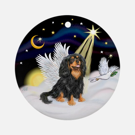 Tri Cavalier Angel Ornament (Round)